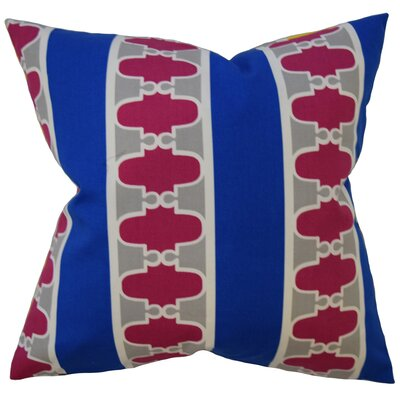 Van Buren Geometric Down Filled 100% Cotton Throw Pillow Size: 24