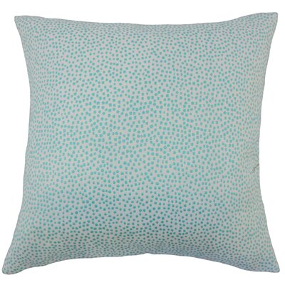 Wilbanks Down Filled Throw Pillow Size: 18 x 18, Color: Turquoise