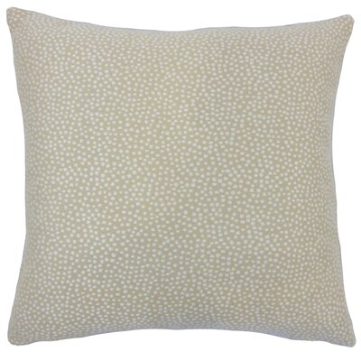 Kroeker Ikat Floor Pillow Color: Jute