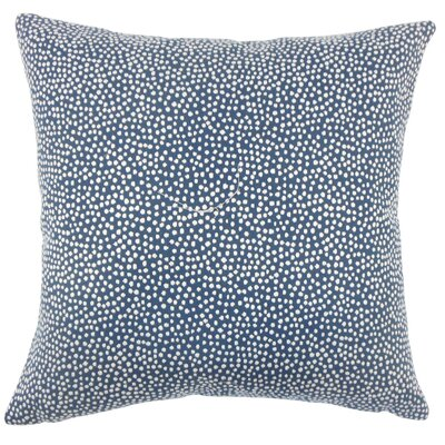 Wilbanks Down Filled Throw Pillow Size: 20 x 20, Color: Navy