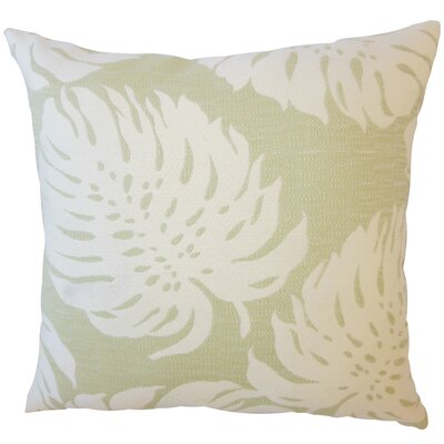 Quaniece Outdoor Down Filled Throw Pillow Size: 22 x 22, Color: Pistachio