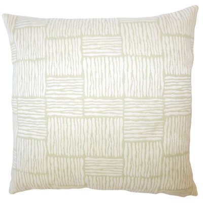 Usher Geometric Down Filled Lumbar Pillow Color: Tropique