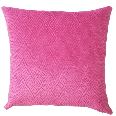 Chesterwood Solid Down Filled Lumbar Pillow Color: Azalea