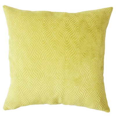 Chesterwood Solid Down Filled Lumbar Pillow Color: Citron