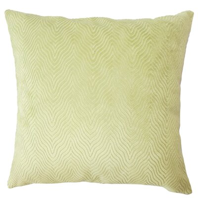 Chesterwood Solid Down Filled Lumbar Pillow Color: Green