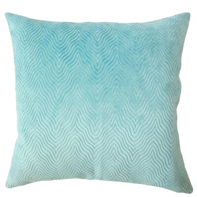 Chesterwood Solid Down Filled Lumbar Pillow Color: Turquoise