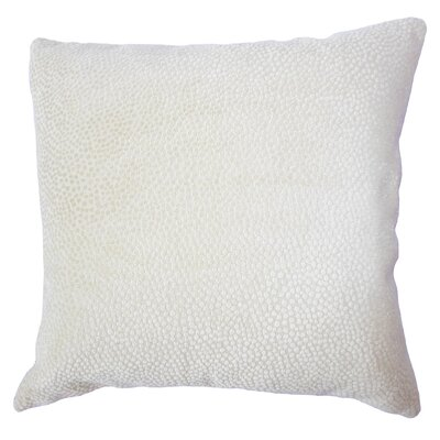 Chesterman Solid Down Filled Lumbar Pillow Color: Citron