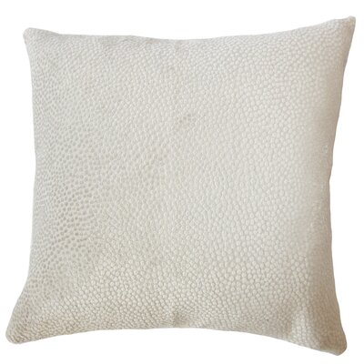 Chesterman Solid Down Filled Lumbar Pillow Color: Dove