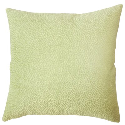 Chesterman Solid Down Filled Throw Pillow Size: 18 x 18, Color: Citron