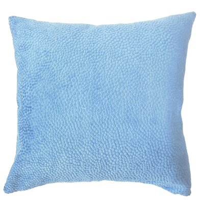 Chesterman Solid Down Filled Lumbar Pillow Color: Navy