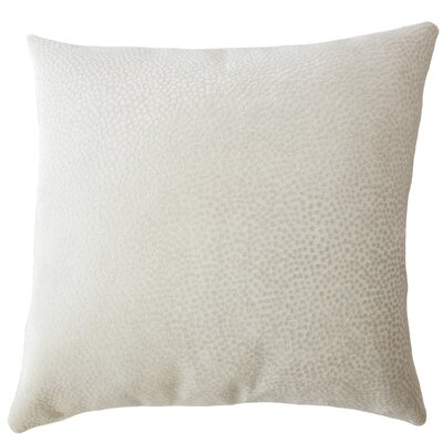 Chesterman Solid Down Filled Lumbar Pillow Color: Oatmeal