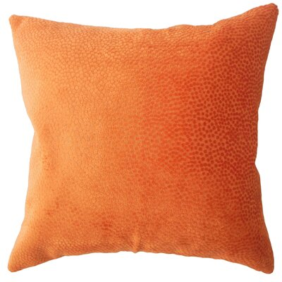 Chesterman Solid Down Filled Lumbar Pillow Color: Orange