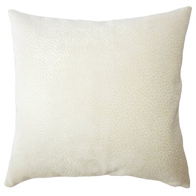 Chesterman Solid Down Filled Lumbar Pillow Color: Sand