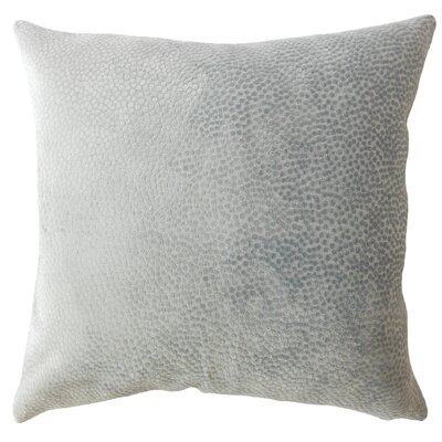 Chesterman Solid Down Filled Lumbar Pillow Color: Slate