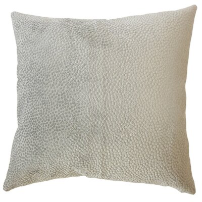 Chesterman Solid Down Filled Lumbar Pillow Color: Stone