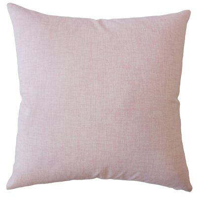 Dominico Plaid Down Filled 100% Cotton Throw Pillow Size: 18