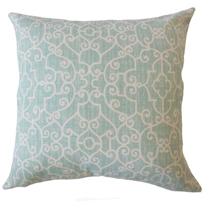 Donata Animal Print Down Filled 100% Cotton Throw Pillow Size: 22 x 22, Color: Blue