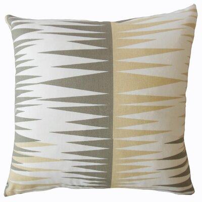 Wetzel Geometric Down Filled 100% Cotton Throw Pillow Size: 20 x 20, Color: Camel