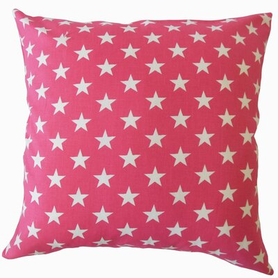 Wexler Geometric Down Filled 100% Cotton Lumbar Pillow Color: Pink