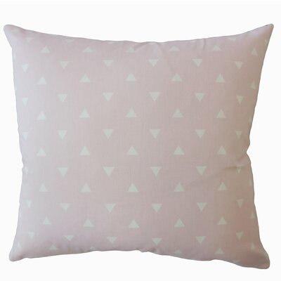 Wight Geometric Down Filled 100% Cotton Throw Pillow Size: 22 x 22, Color: Twill