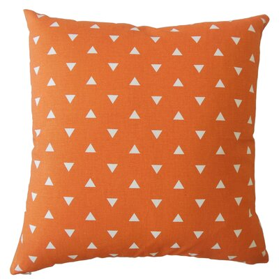 Wight Geometric Down Filled 100% Cotton Lumbar Pillow Color: Monarch