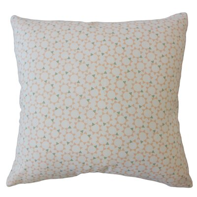 Creede Geometric Down Filled 100% Cotton Throw Pillow Size: 24 x 24