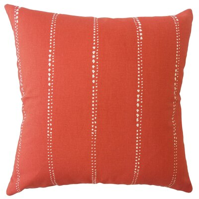 Boscobel Striped Down Filled 100% Cotton Lumbar Pillow