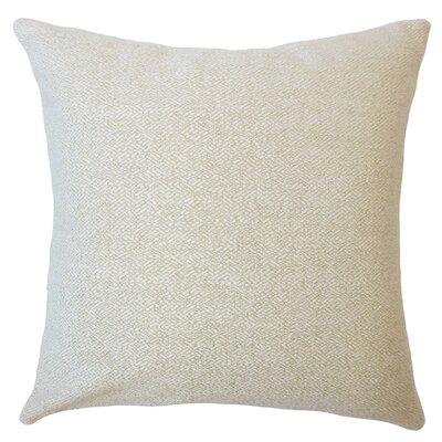Evansville Solid Down Filled Throw Pillow Size: 24 x 24, Color: Celadon