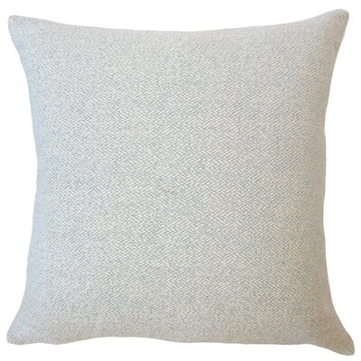 Evansville Solid Down Filled Throw Pillow Size: 18 x 18, Color: Cornflower