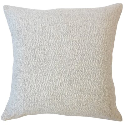 Evansville Solid Down Filled Throw Pillow Size: 22 x 22, Color: Taupe