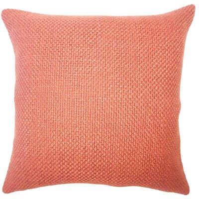 Nik Solid Down Filled Lumbar Pillow Color: Cinnamon