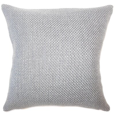 Nik Solid Down Filled Lumbar Pillow Color: Mineral