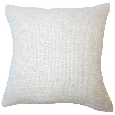 Nik Solid Down Filled Lumbar Pillow Color: Oyster