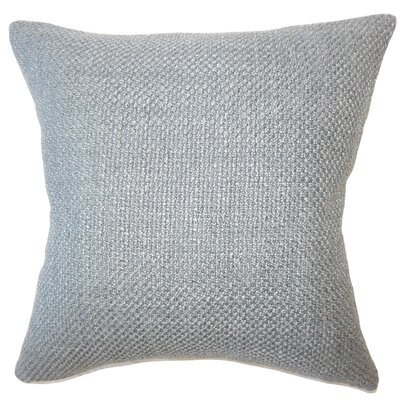 Nik Solid Down Filled Throw Pillow Size: 20 x 20, Color: Platinum