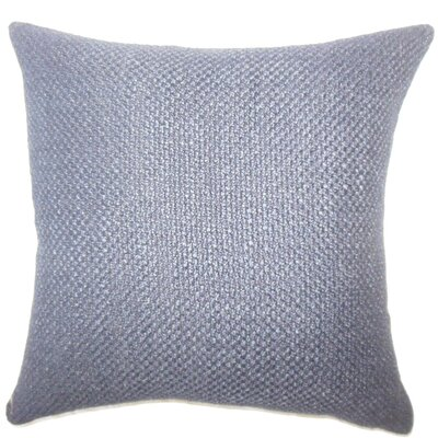 Nik Solid Down Filled Throw Pillow Size: 20 x 20, Color: Plum