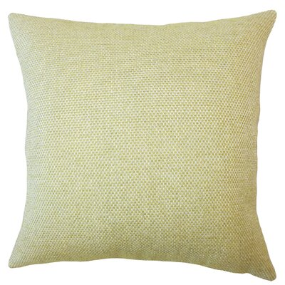 Fryeburg Solid Down Filled Throw Pillow Size: 24 x 24, Color: Apple Green