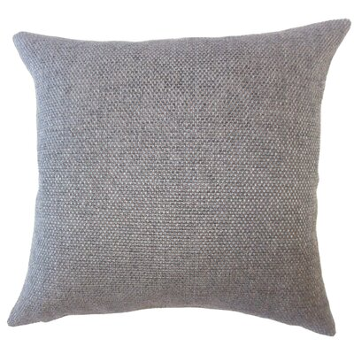 Fryeburg Solid Down Filled Throw Pillow Size: 18 x 18, Color: Brown