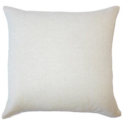 Fryeburg Solid Down Filled Throw Pillow Size: 18 x 18, Color: Oyster