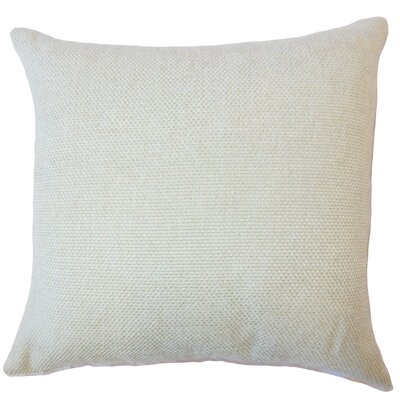 Fryeburg Solid Down Filled Throw Pillow Size: 18 x 18, Color: Seafoam