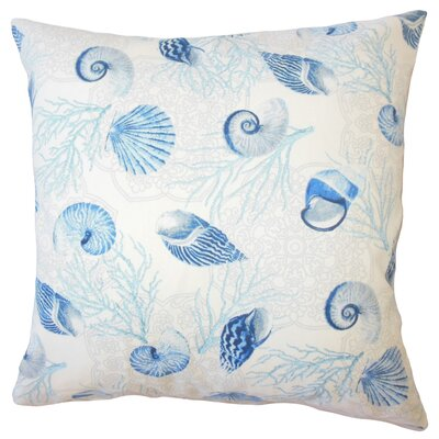 Sedgwick Coastal Down Filled 100% Cotton Throw Pillow Size: 18 x 18