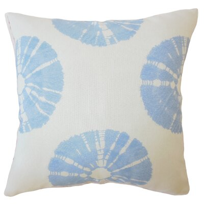 LaTeisha Geometric Down Filled Lumbar Pillow Color: Sky Blue