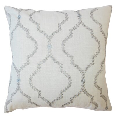 Ying Geometric Down Filled Lumbar Pillow Color: Mineral