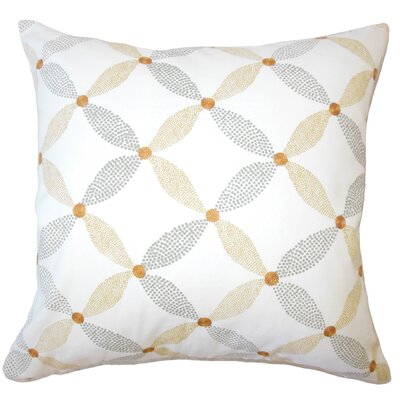 Wiest Geometric Down Filled 100% Cotton Throw Pillow Size: 18