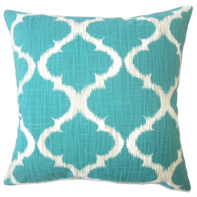 Topsfield Ikat Down Filled 100% Cotton Throw Pillow Size: 24 x 24