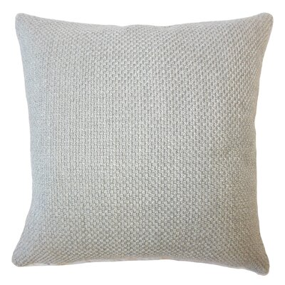 Amaryllis Solid Down Filled Throw Pillow Size: 20 x 20