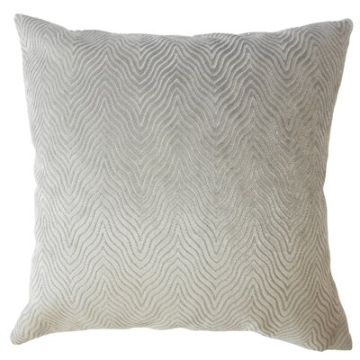 Anie Solid Down Filled Throw Pillow Size: 20 x 20, Color: Stone