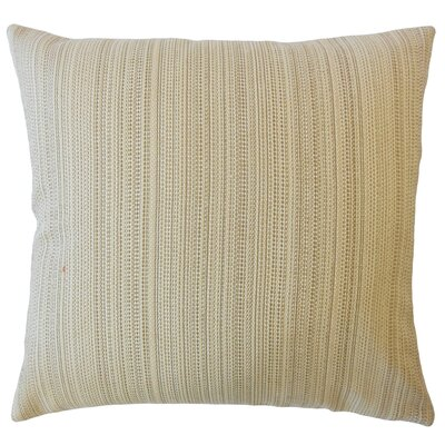 Hampden Striped Down Filled Throw Pillow Size: 24 x 24