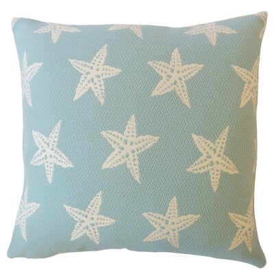 Plympton Coastal Down Filled Throw Pillow Size: 24 x 24, Color: Capri