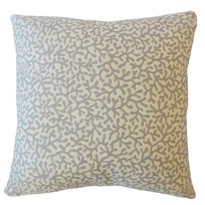 Hinsdale Coastal Down Filled Throw Pillow Size: 18 x 18, Color: Smoke