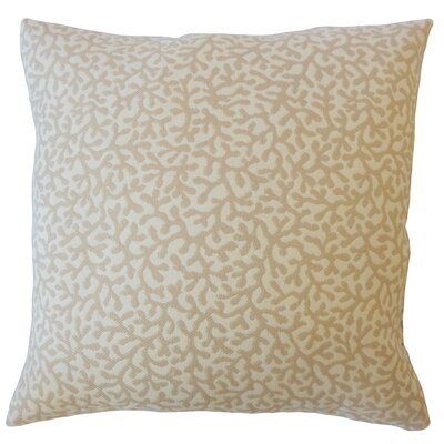 Hinsdale Coastal Down Filled Throw Pillow Size: 24 x 24, Color: Sand
